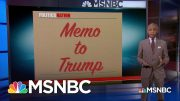 Memo to Trump: 'You've Been So Desperate To Sabotage The Constitutionally Mandated Census' | MSNBC 3