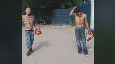 Bloodied men carrying chainsaws arrested at a popular Toronto beach 6