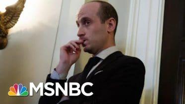 Stephen Miller A 'Case Study In Radicalization,' Says Writer   Morning Joe   MSNBC 6