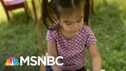 Schools Move Classrooms Outdoors To Deal With Pandemic | Craig Melvin | MSNBC 4