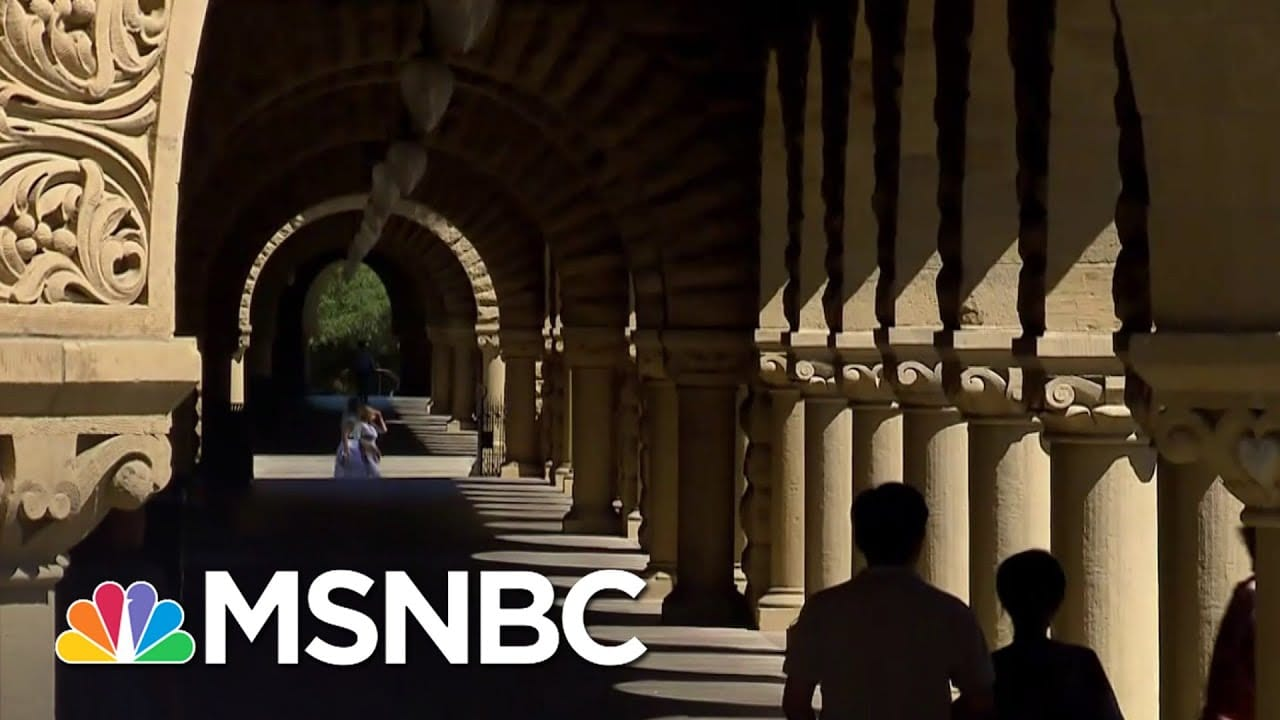 College Students Reconsider High Tuition Costs In Pandemic   Craig Melvin   MSNBC 9