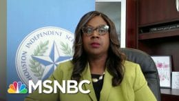 HISD Interim Superintendent On Reopening The Largest School District In Texas | Craig Melvin | MSNBC 3