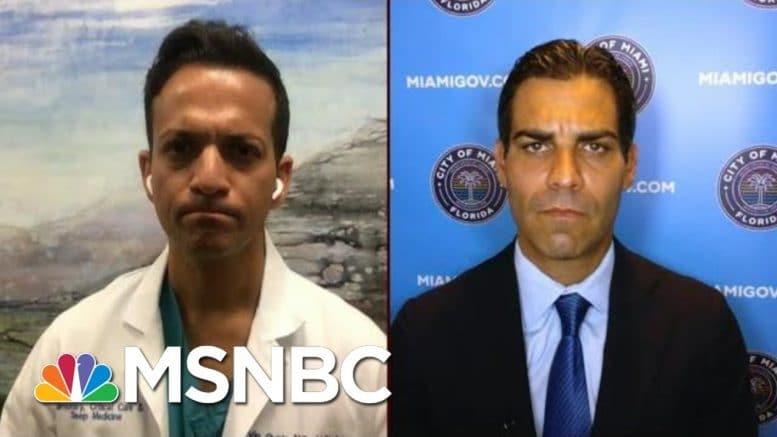 WaPo: 'Mask Mandates Won't work - Unless They Are Enforced'   Morning Joe   MSNBC 1