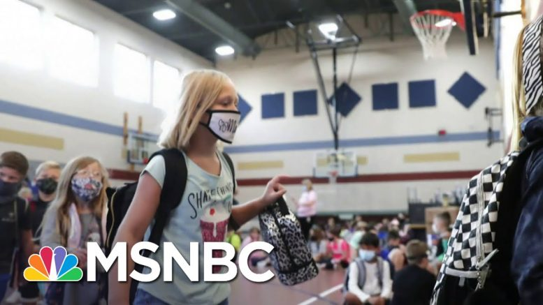 The Debate Over Reopening Schools Continues As More Children Test Positive   Deadline   MSNBC 1