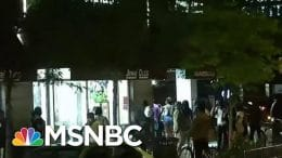 Unrest Erupts In Downtown Chicago After Man Shot By Police | MTP Daily | MSNBC 4