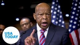 Congressman John Lewis lies in state at US Capitol | USA TODAY 4