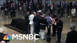 Laying Civil Rights Icon John Lewis To Rest | Morning Joe | MSNBC 9