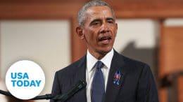 Barack Obama remembers 'hero' John Lewis in emotional eulogy (FULL SPEECH) | USA TODAY 1