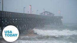 Storm Isaias aftermath  in Ocean Isle Beach, North Carolina 4