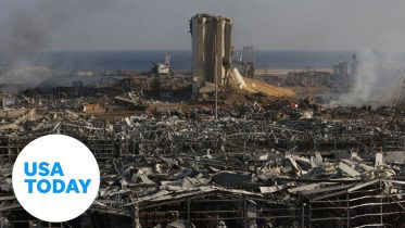 Beirut explosion aftermath  | USA TODAY 6