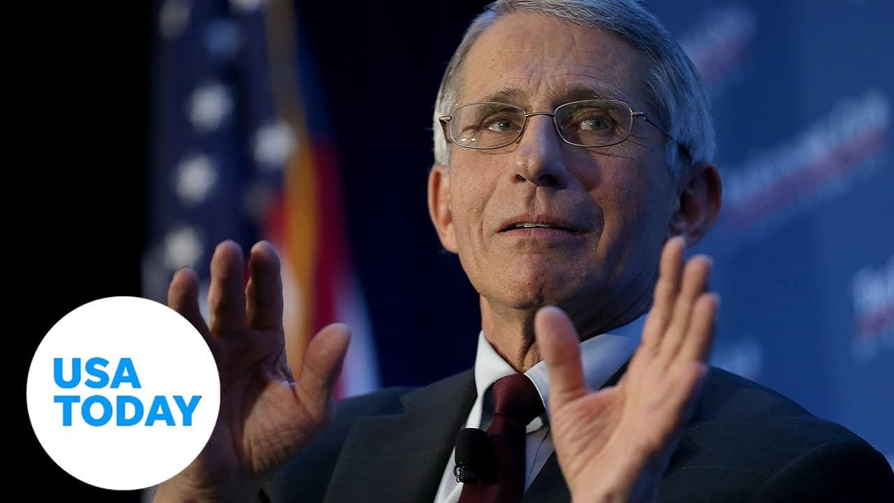 Dr. Anthony Fauci speaks at public forum at Harvard University with Dr. Sanjay Gupta | USA TODAY 3