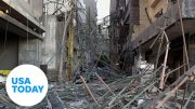 Massive explosion shook Beirut with force of 3.5 magnitude earthquake | USA TODAY 4