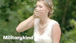 Marine makes bride cry on her wedding day | Militarykind 7