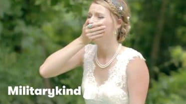 Marine makes bride cry on her wedding day | Militarykind 6