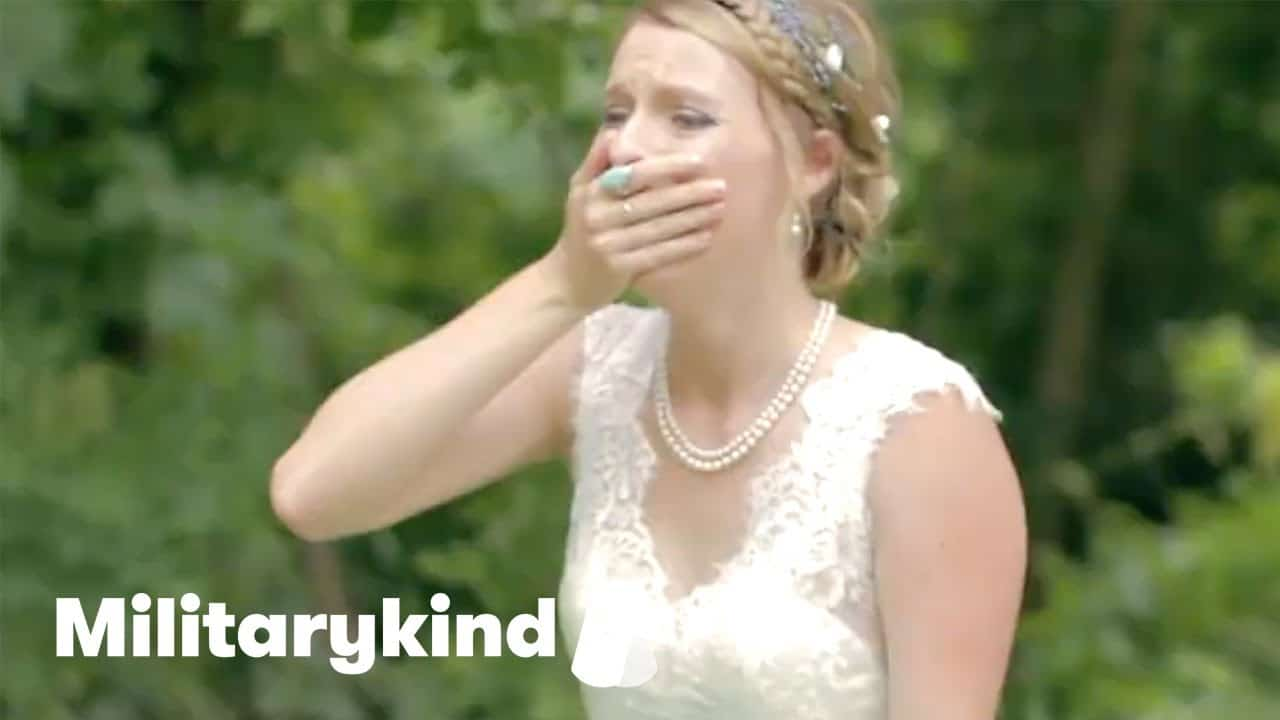Marine makes bride cry on her wedding day | Militarykind 2