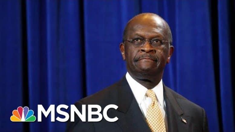 Former Presidential Candidate Herman Cain Dies Of Coronavirus | Hallie Jackson | MSNBC 1