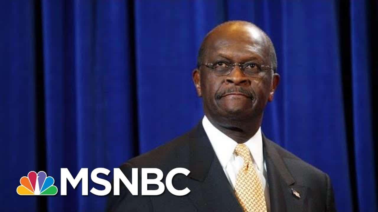 Former Presidential Candidate Herman Cain Dies Of Coronavirus | Hallie Jackson | MSNBC 5
