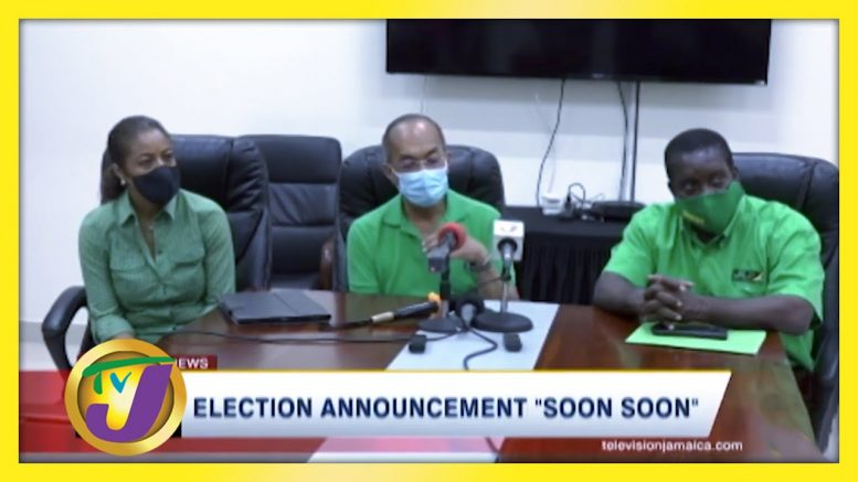 "Election Announcement ""Soon Soon"" - August 9 2020 1"