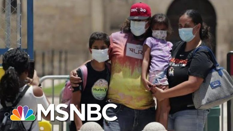 TX Latino Communities Affected By COVID-19 From Economic, Health Inequities | Hallie Jackson | MSNBC 1