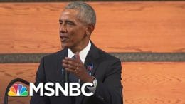 Obama To Politicians: Revitalize The Voting Rights Law John Lewis Was 'Willing To Die For' | MSNBC 4
