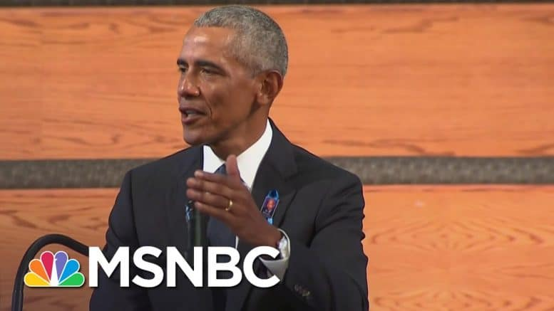 Obama To Politicians: Revitalize The Voting Rights Law John Lewis Was 'Willing To Die For' | MSNBC 1