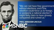 Historian Michael Beschloss: 'Trump Seems So Psychologically Rattled' | MTP Daily | MSNBC 3