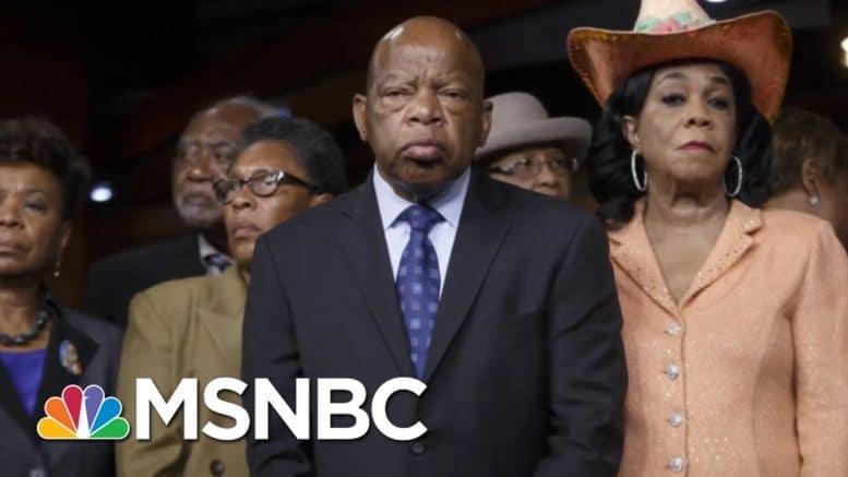 Morgan Freeman Reads Rep. John Lewis' Last Words | The Last Word | MSNBC 1