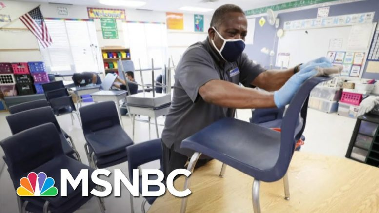 Fmr. CDC Director: Prioritize Testing For Schools To Reopen | The Last Word | MSNBC 1