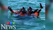 Divers find U.S. paralympian's prosthetic leg in the ocean 3