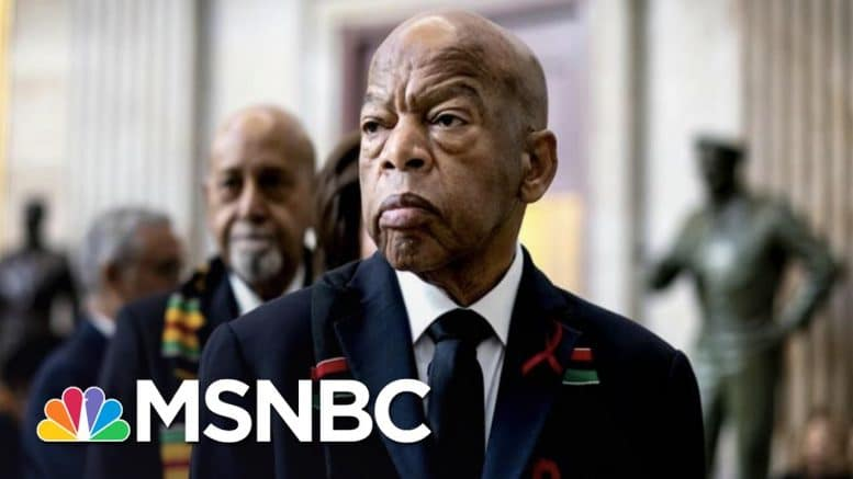 Trump Blasted For Attacks On Voting On The Day John Lewis Is Buried   The 11th Hour   MSNBC 1