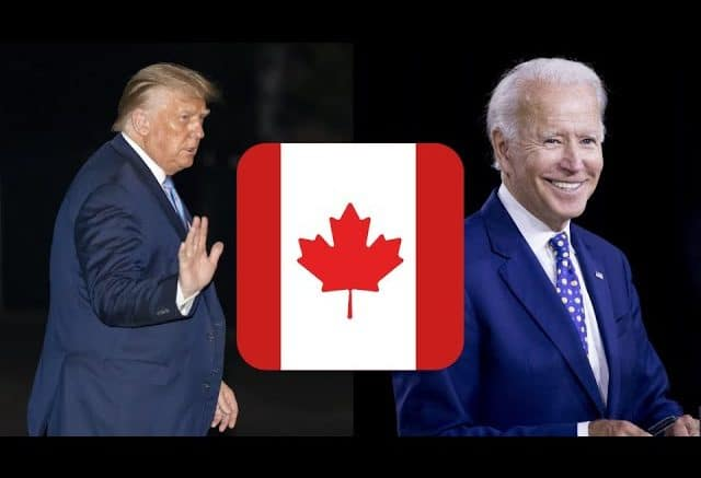 Some notable things Biden and Trump have said about Canada 1