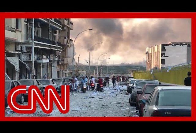 Devastating aftermath of deadly blast in Beirut 1