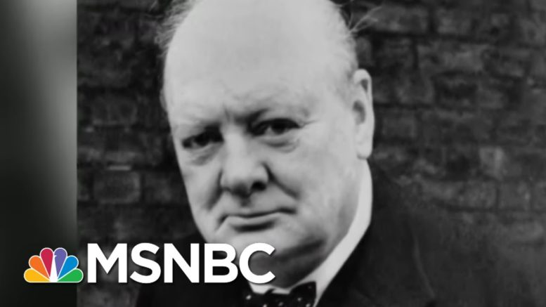 Trump Compares Pandemic Leadership To Churchill During WWII | Morning Joe | MSNBC 1