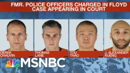 Ex-Officers Charged In George Floyd Death Oppose Being Tried Together | Craig Melvin | MSNBC 5