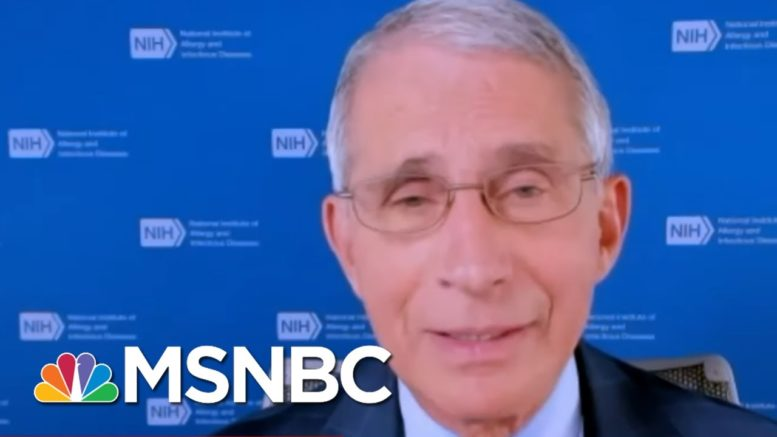 'I Have To Disagree' With Trump Saying We've Rounded Final Turn For COVID | Andrea Mitchell | MSNBC 1