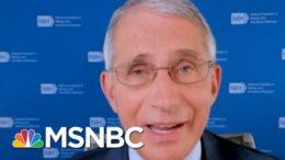 Fauci: Downplaying Coronavirus Threat Is 'Not A Good Thing' | MSNBC 6