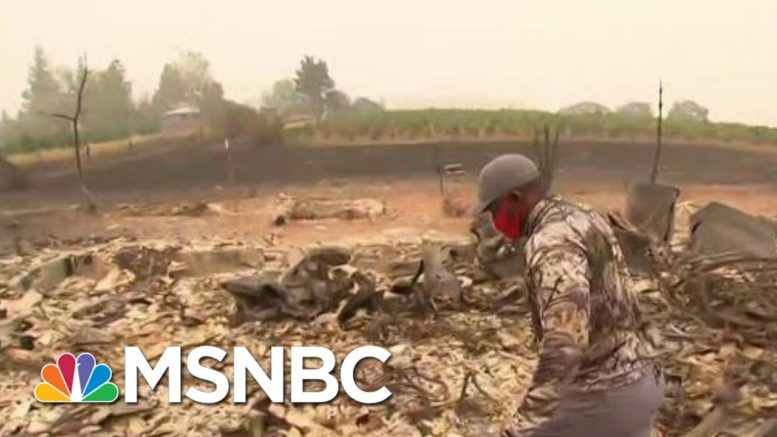 Over 900,000 Acres Scorched By Fires In OR, Half A Million Residents Evacuated | MTP Daily | MSNBC 1
