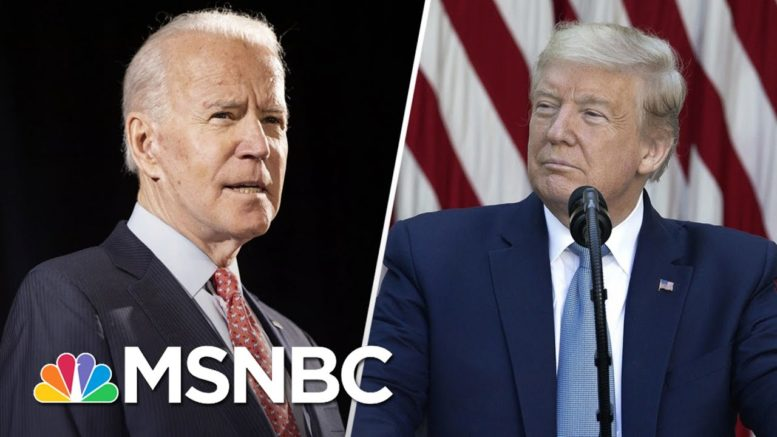 Trump Baselessly Says Biden Is Probably Using Drugs | The 11th Hour | MSNBC 1