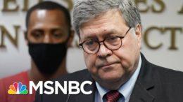 Barr Games With Flynn Case Ripped As 'Corrupt Political Errand' | Rachel Maddow | MSNBC 2