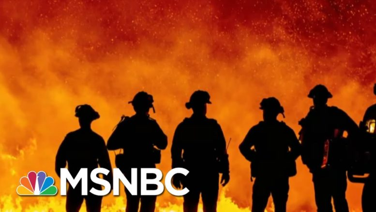 Vast, Fast-Moving Fires Have Oregon Bracing For 'Mass Fatality Incident'   Rachel Maddow   MSNBC 1