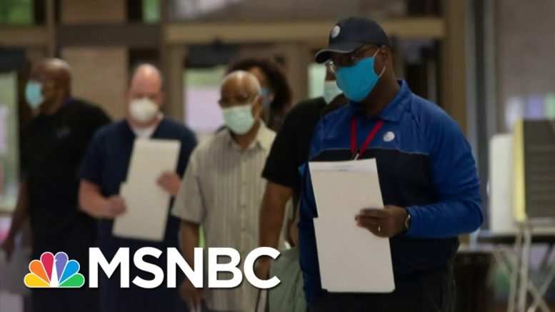 New Poll Shows 71 Percent of Latinos Motivated To Vote by Coronavirus Pandemic Response | MSNBC 1