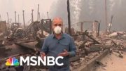 Dense Smoke Clouds The West Coast as Wildfires Continue | MSNBC 3