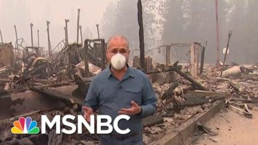 Dense Smoke Clouds The West Coast as Wildfires Continue | MSNBC 6