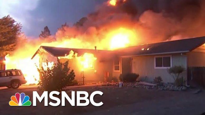 West Coast Wildfires Kill 33, With Dozens Missing | Morning Joe | MSNBC 1