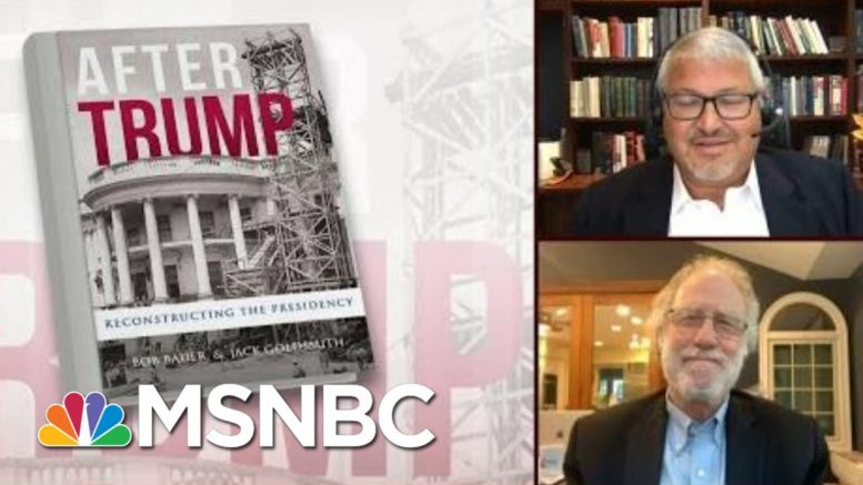 Can The U.S. Still Depend On The Decency Of A Sitting President? | Morning Joe | MSNBC 1
