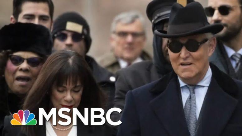 DOJ Internal Watchdog Investigating Roger Stone's Sentencing | MSNBC 1