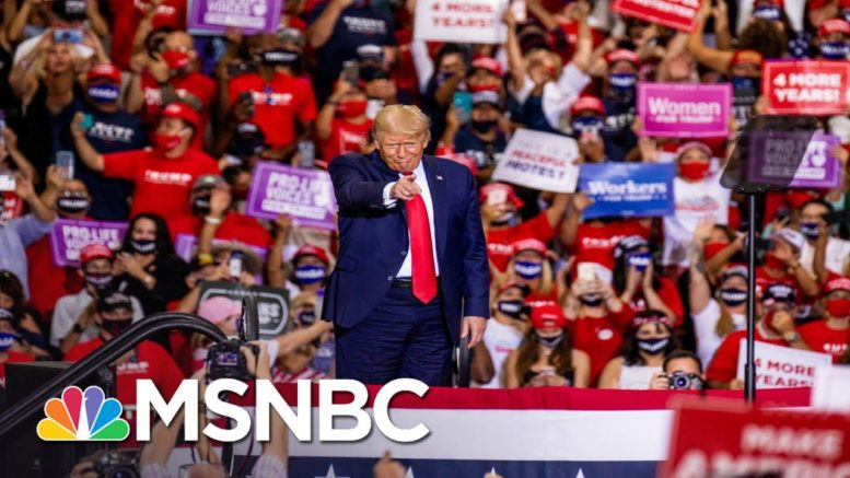 'Irresponsible, Arrogant': Nevada Gov. Sisolak Rips Trump For Holding Indoor Rally | All In | MSNBC 1