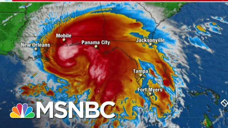 Hurricane Sally May Stall Bringing Gulf Coast Massive Floods | The 11th Hour | MSNBC 1