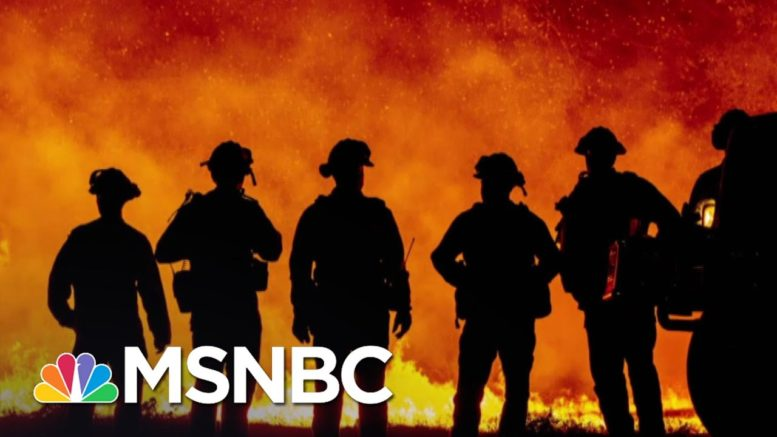 Biden Blasts Trump Who Denies Climate Science As Wildfires Rage   The 11th Hour   MSNBC 1