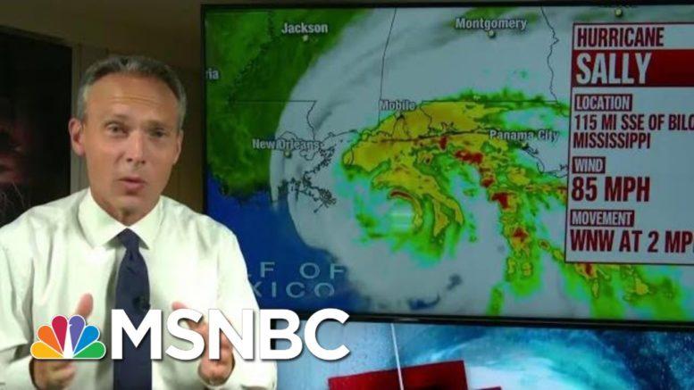 Gulf Coast Braces For Hurricane Sally | Morning Joe | MSNBC 1